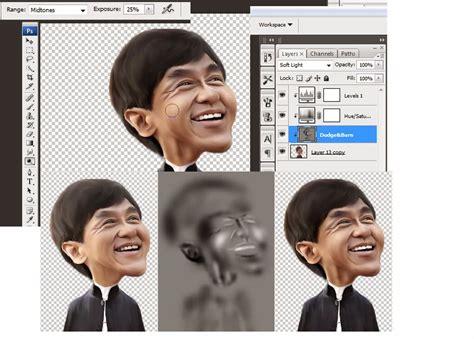 tutorial photoshop edit foto menjadi karikatur membuat foto karikatur menggunakan adobe photoshop