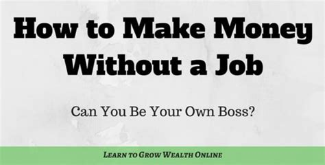 What Is The Easiest Way To Make Money Online - what is the best way to make money without a job try this