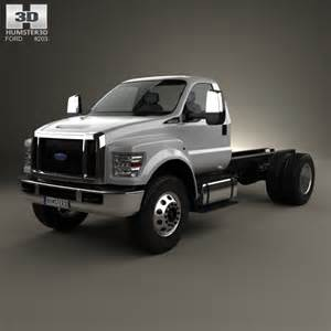 2016 Ford F 650 Ford F 650 Regular Cab Chassis 2016 3d Model Hum3d