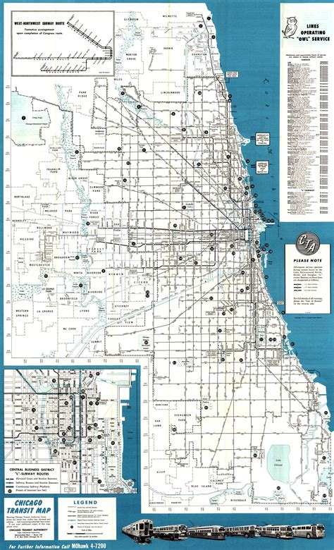chicago elevated map garfield park branch cta