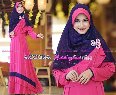 Dress Wanita Fahira trend busana menyusui wanita gaun pesta muslim pusat