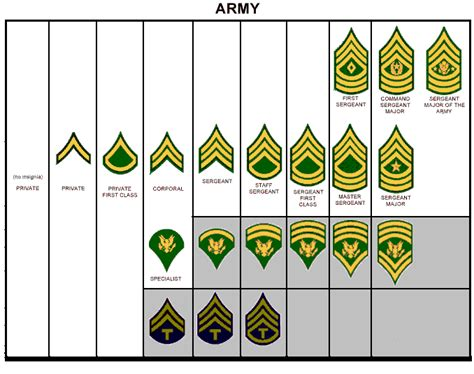 united states army officer rank insignia in use today us dod pay military ranks of the united states army
