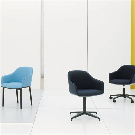 in a chaise and four the softshell chair by vitra in the shop