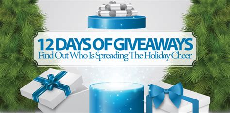 12 Days Of Giveaway Ellen - 12 days of giveaways find out who is spreading the holiday cheer