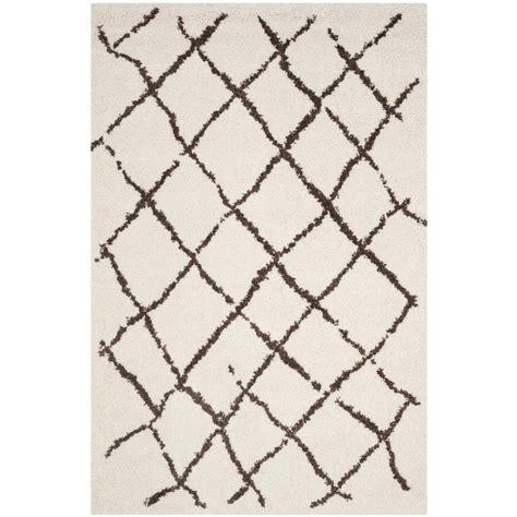 safavieh berber shag brown 8 ft x 10 ft area rug
