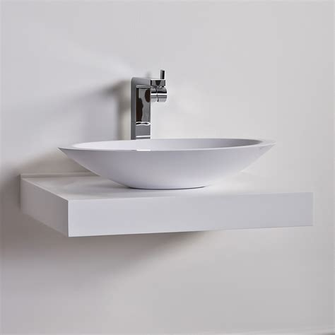 Bathroom Basin Shelf by The Paper Mulberry Bathrooms Lusso