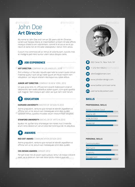Curriculum Vitae Cover Letter by 3 Resume Cv Cover Letter By Bullero Graphicriver