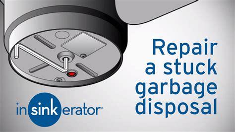 how to fix sink disposal garbage disposal repair how to fix a garbage disposal