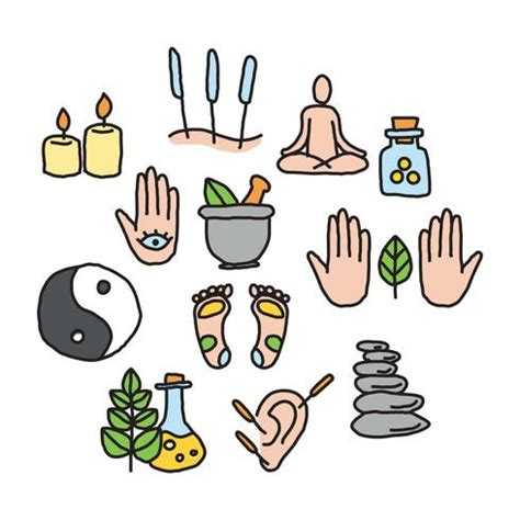doodle free alternative alternative medicine doodles free vector