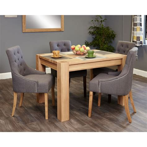 Small Oak Dining Table And 4 Chairs Salisbury Oak Furniture Small Dining Table And Four Luxury