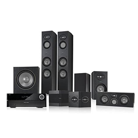 infinity 5 1 home theater bundle with harman kardon avr