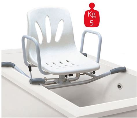 seggiolino per vasca da bagno seggiolino girevole surace per vasca da bagno ausili per