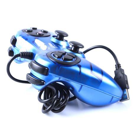 E Smile Gamepad Pc Dual Shock Controller trands usb 2 0 dual shock vibration single controller