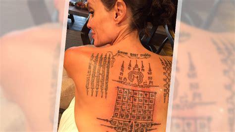 angelina jolie tattoo brad pitt angelina jolie und brad pitt diese tattoos sollten ihre