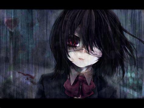 anime horror mei misaki another horror anime manga fan art