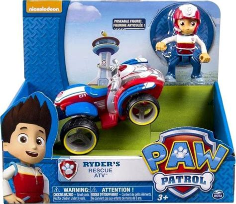 Real Pic Figure Paw Patrol Isi 6 Pcs Bisa Nembak paw patrol ryders rescue atv spin master toywiz