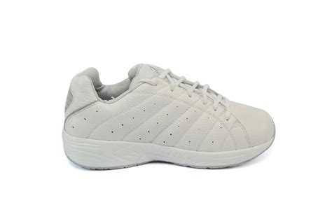 Walking Comfort Shoe Store by Answer2 557 3 White Mens Walking Comfort Shoe Orthotic Shop