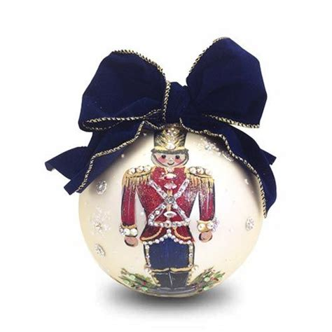 love this nutcracker christmas ornament from natalie