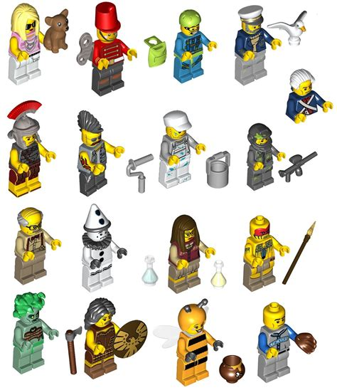 Lego Minifigures Series 10 Mechanic Misp afficher le sujet minifigs 224 collectionner s 233 rie 10 71001