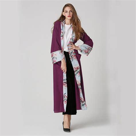 Vest Cardigan Atasan Wanita Muslim aliexpress buy 2018 chiffon abaya dubai muslim