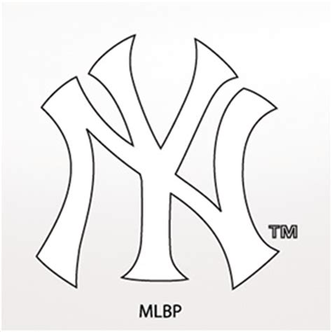 Coloring Pages Of Yankees New York Yankees Coloring Pages