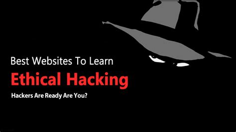 best website for hacking top 25 best websites to learn ethical hacking 2019