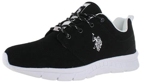 polo sneakers mens u s polo assn s clinch running sneakers shoes