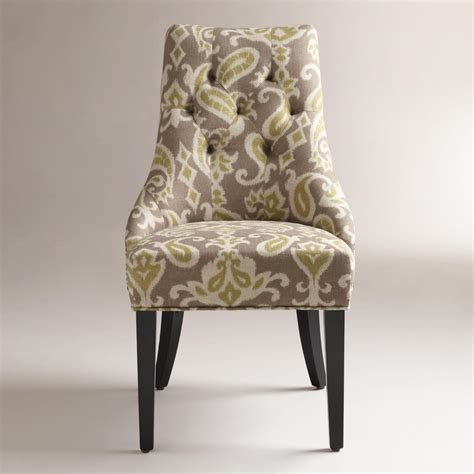 Ikat Arm Chair Design Ideas Soho Leather Ikat Wing Chair Leather Chair Bobbin Ikat Chairikat Chair And Ottoman