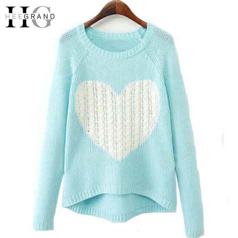 Sweater Rajut Grand Wish hee grand new fashion sweater pattern pullover o neck sleeve knitwear