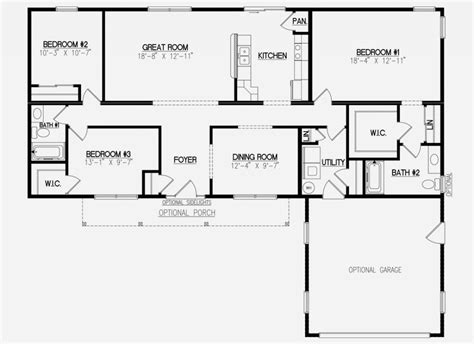 jamison ii floor plans ranch modular homes nj home builder