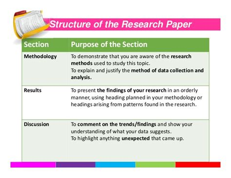 writing a discussion section of a research paper how to write a research paper
