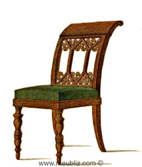chaise directoire chaise directoire 224 dossier en crosse et motifs ajour 233 s