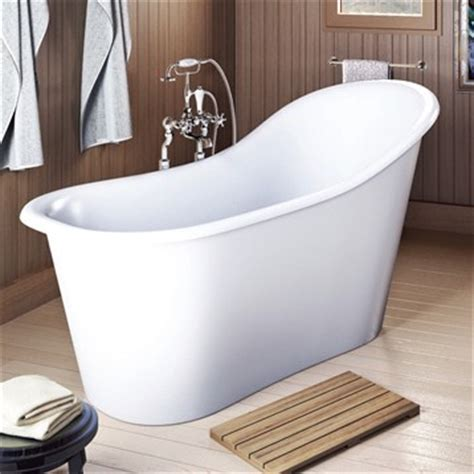 Bathtub 60 X 40 by Americh International Emperor Freestanding Bathtub White