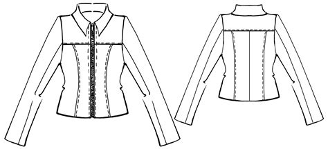 sewing pattern leather jacket leather jacket sewing pattern 5321 made to measure