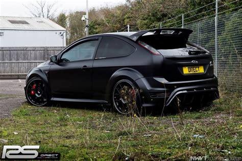 ford focus rs  mk black colour  huge alloy rims