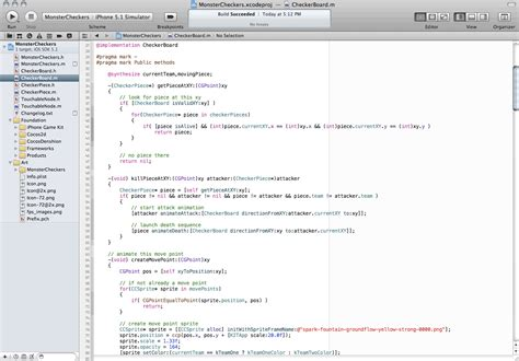 xcode sle game code iphone game creation for beginners cocos2d source code
