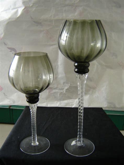 Wine Glass Vase by Decorating Glass Wine Shape Glass Vases Vase Flower
