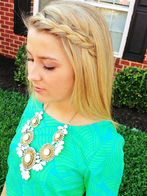 how to french braid bangs to the side easy step by step braided bangs hairstyles to try in 2016 hairstyles 2017