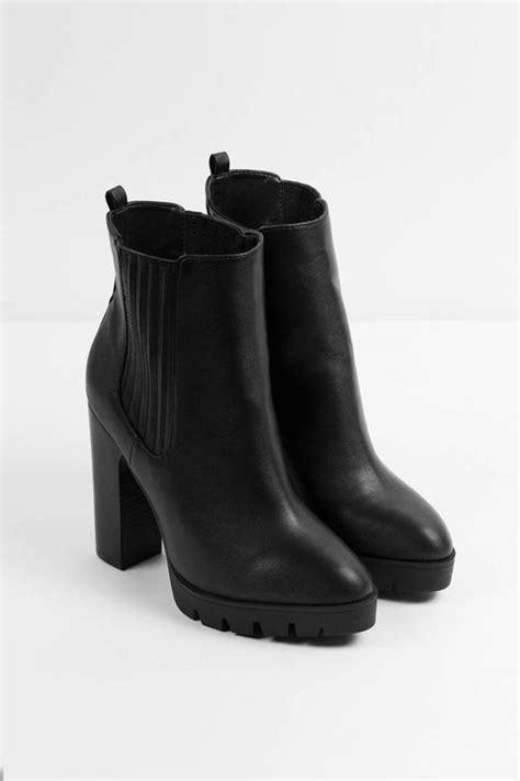 high heeled chelsea boots polk high heeled chelsea boots 60 00 tobi