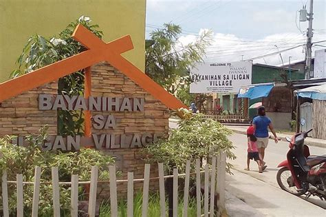 gk houses mayor probes sendong survivors who sold gk houses abs