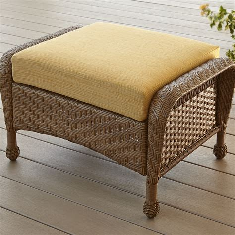 green coral springs ottoman limited availability