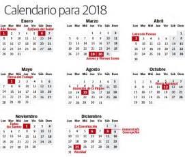 Calendario Laboral Barcelona 2018 Calendario Laboral De 2018 Aprobado Fecha A 250 N Para El