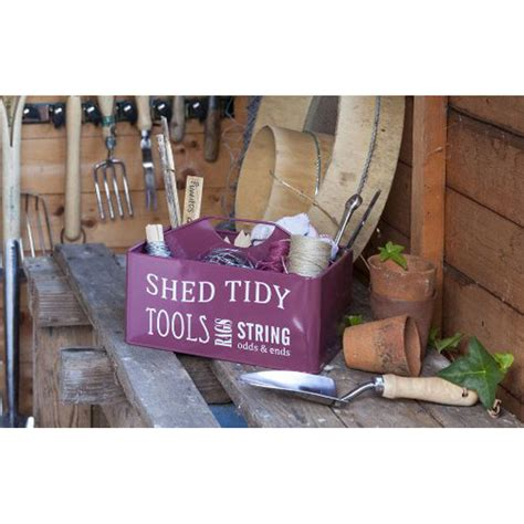 Shed Tidy by Greenhouse And Shed Tidy Tool Box By Garden
