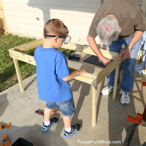 woodworking for boys workbench plans