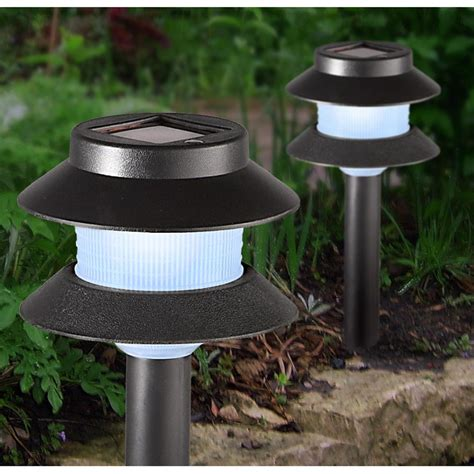 solar pathway lights 16 pk solar pathway lights 216823 solar outdoor