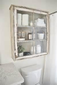 Vintage Bathroom Storage Cabinets 20 Easy Diy Bathroom Decor Ideas