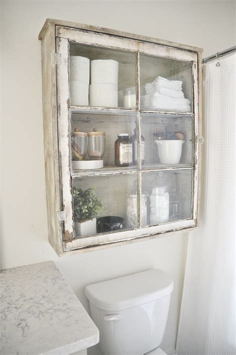 vintage bathroom cabinet 20 easy diy bathroom decor ideas