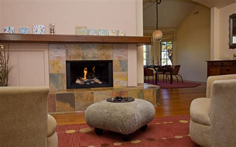 montecito estate fireplace open house for luxury home in santa barbara