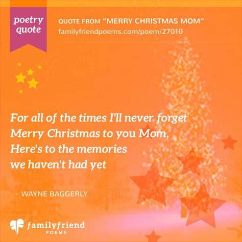 poem thanking mom   shes  merry christmas mom