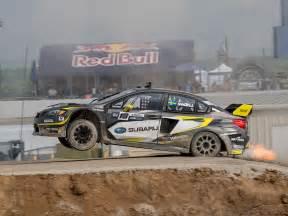 Subaru World Rally Team Subaru Rally Team Usa Encouraged By Improved Pace At